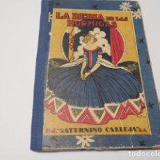 Tebeos: LA REINA DE LAS HORMIGAS. EL FIEL JUAN. LAS RANAS MAGICAS. BIBLIOTECA ESCOLAR RECREATIVA. ILUSTRAC-. Lote 147897614