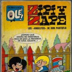 Tebeos: OLE Nº 75 - ZIPI Y ZAPE - LOS ANGELITOS DE DON PANTUFLO - BRUGUERA 1973 1ª EDICION - 80 PAG. Lote 204188518