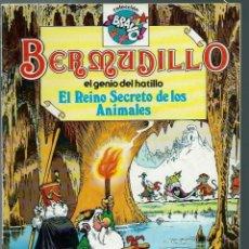 Tebeos: BERMUDILLO EL GENIO DEL HATILLO Nº 2 - EL REINO SECRETO DE LOS ANIMALES - BRUGUERA 1982 1ª EDICION. Lote 147907158