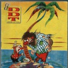 Tebeos: EL DDT CONTRA LAS PENAS Nº IX 9 - BRUGUERA JUNIO 1951 - PORTADA DE CIFRE - EXCELENTE ESTADO. Lote 147916690