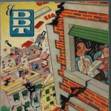 Tebeos: EL DDT CONTRA LAS PENAS Nº XXIV 24 - BRUGUERA 1951 - PORTADA DE PEÑARROYA - EN BUEN ESTADO. Lote 147917170