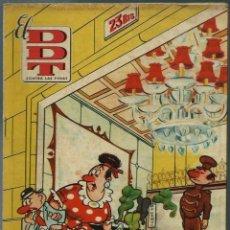 Tebeos: EL DDT CONTRA LAS PENAS Nº XXV 25 - BRUGUERA 1951 - PORTADA DE CIFRE - EN BUEN ESTADO. Lote 147917450
