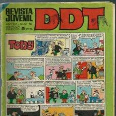 Tebeos: DDT III EPOCA Nº 15 - BRUGUERA 1967 - ORIGINAL. Lote 147919502