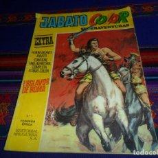 Tebeos: JABATO COLOR EXTRA ALBUM AMARILLO 3ª TERCERA ÉPOCA NºS 1, 6 Y 7. BRUGUERA 1978.. Lote 86021128