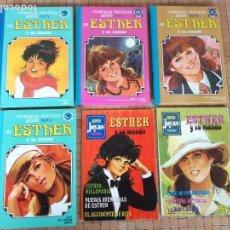 Tebeos: LOTE 6 COMICS ESTHER Y SU MUNDO EDIOTORIAL BRUGUERA AÑOS 80 PRIMERAS EDICIONES. Lote 148096522
