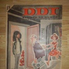 Tebeos: DDT - AÑO XV SEGUNDA ÉPOCA - Nº 772 - 18 DE ABRIL DE 1966. Lote 148112346
