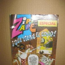 Tebeos: ZIPI ZAPE ESPECIAL Nº 142. QUE VIENE EL COCO.. Lote 148155886