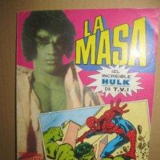 Tebeos: LA MASA Nº 1. SPIDERMAN CONTRA HULK. BRUGUERA .. Lote 148161798