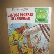Tebeos: LAS DOS PRUEBAS DE SANDOKAN. SALGARI. JOYAS LITERARIAS Nº 207. PRIMERA EDICION 1979. Lote 148184586