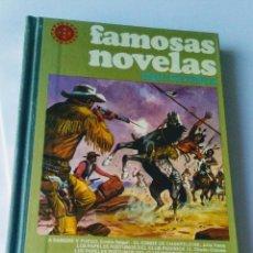 Tebeos: FAMOSAS NOVELAS XVI VOLUMEN 16. Lote 148205120