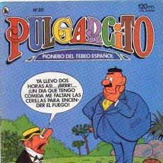 Tebeos: PULGARCITO *** EDITORIAL BRUGUERA 1986 NÚMERO 20. Lote 148370746