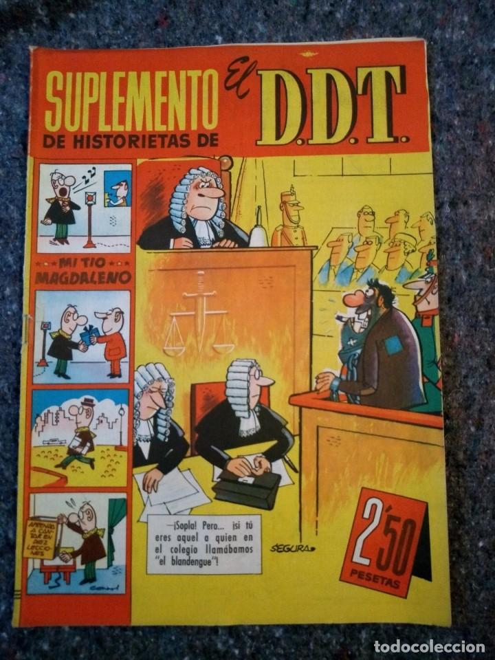 SUPLEMENTO DE HISTORIETAS DE EL DDT Nº 11 - DOCTOR NIEBLA (Tebeos y Comics - Bruguera - DDT)
