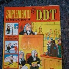 Tebeos: SUPLEMENTO DE HISTORIETAS DE EL DDT Nº 11 - DOCTOR NIEBLA. Lote 148385510