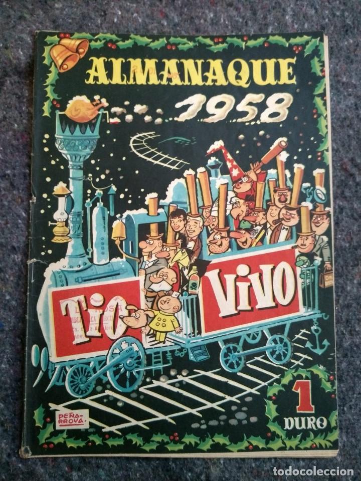 TÍO VIVO ALMANAQUE 1958 (Tebeos y Comics - Bruguera - Tio Vivo)