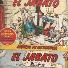 Tebeos: OPORTUNIDAD COLECCION DEL JABATO ORIGINAL DE 81 Nº VER FOTOS. Lote 148401298