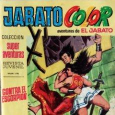 Tebeos: JABATO COLOR Nº 3 - PRIMERA ÉPOCA - CONTRA EL ESCORPIÓN - EDITORIAL BRUGUERA - AÑO 1969. Lote 148477410