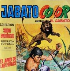 Tebeos: JABATO COLOR Nº 7 - PRIMERA ÉPOCA - EL AMO DE LAS FIERAS - EDITORIAL BRUGUERA - AÑO 1969. Lote 148477650