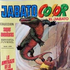 Tebeos: JABATO COLOR Nº 28 - PRIMERA ÉPOCA - LA AMENAZA DE LA MOMIA - EDITORIAL BRUGUERA - AÑO 1970. Lote 148478166