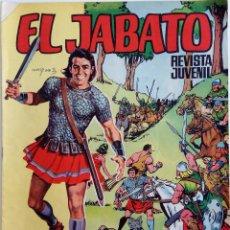 Tebeos: EL JABATO ALBUM GIGANTE Nº 38 - KUNDA LA HECHICERA - AÑO 1969. Lote 148938854