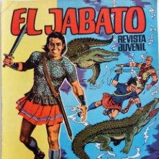 Tebeos: EL JABATO ALBUM GIGANTE Nº 40 - EL SECRETO DE LA ISLA - AÑO 1969 - ÚLTIMO NÚMERO. Lote 148939514