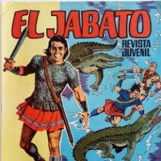 Tebeos: EL JABATO ALBUM GIGANTE Nº 40 - EL SECRETO DE LA ISLA - AÑO 1969 - ÚLTIMO NÚMERO. Lote 148939646