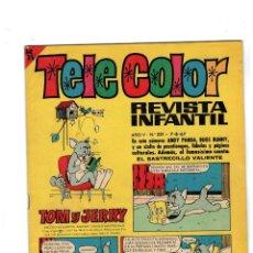Tebeos: TELE COLOR. Nº 231. BRUGUERA,1967. EXCELENTE.. Lote 148966374