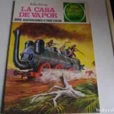 Tebeos: JOYAS LITERARIAS - LA CASA DE VAPOR - Nº 134 - EL DE LAS FOTOS VER TODOS MIS COMICS Y TEBEOS. Lote 149078518