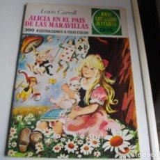 Tebeos: JOYAS LITERARIAS - ALICIA EN EL PAIS DE LAS MARAVILLAS - Nº 138 -EL DE LAS FOTOS VER TODOS. Lote 149087078