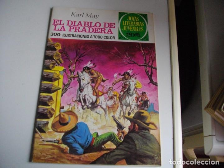 JOYAS LITERARIAS -EL DIABLO DE LA PRADERA - Nº 139 -EL DE LAS FOTOS VER TODOS MIS COMICS Y TEBEOS (Tebeos y Comics - Bruguera - Joyas Literarias)