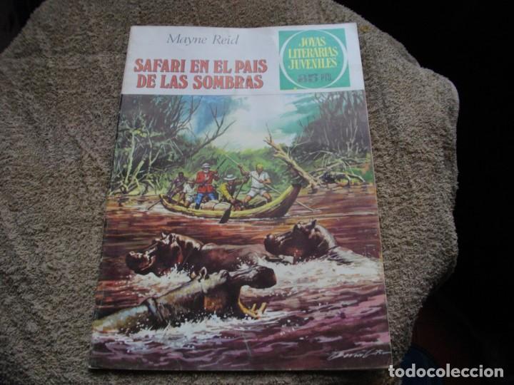 JOYAS LITERARIAS -SAFARI EN EL PAIS DE LAS SOMBRAS - Nº 145 -EL DE LAS FOTOS VER TODOS MIS COMICS (Tebeos y Comics - Bruguera - Joyas Literarias)