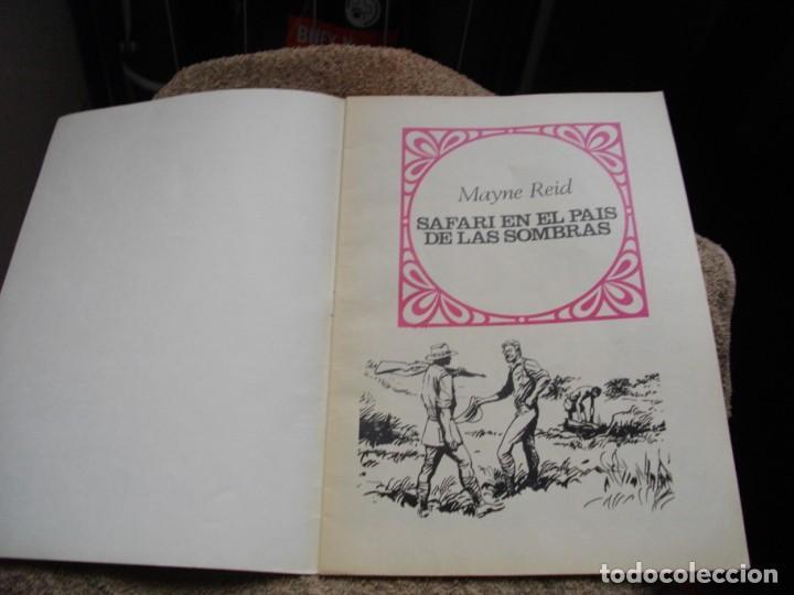 Tebeos: JOYAS LITERARIAS -SAFARI EN EL PAIS DE LAS SOMBRAS - Nº 145 -EL DE LAS FOTOS VER TODOS MIS COMICS - Foto 2 - 149097482