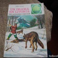 Tebeos: JOYAS LITERARIAS - UN DRAMA EN LIVONIA- Nº 161 -EL DE LAS FOTOS VER TODOS MIS COMICS. Lote 149123590