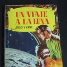 Tebeos: UN VIAJE A LA LUNA JULIO VERNE COLECCIÓN HISTORIAS EDITORIAL BRUGUERA AÑO 1959. Lote 149488678