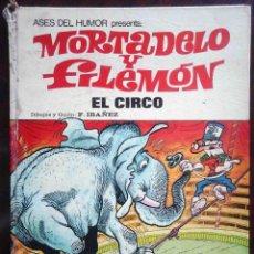 Tebeos: ASES DEL HUMOR 27 - MORTADELO Y FILEMÓN - EL CIRCO PRIMERA EDICIÓN 1973. Lote 149545862