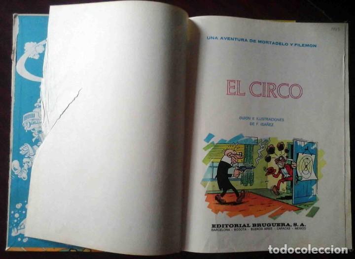 Tebeos: Ases del humor 27 - Mortadelo y filemón - El circo Primera edición 1973 - Foto 3 - 149545862