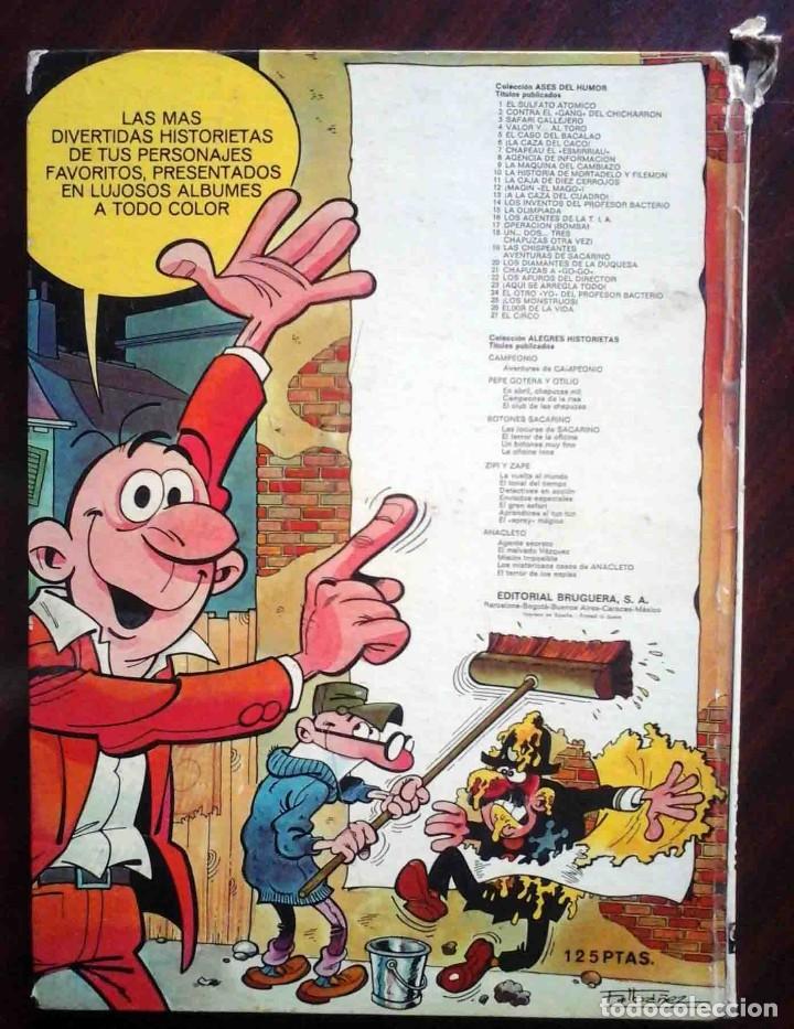 Tebeos: Ases del humor 27 - Mortadelo y filemón - El circo Primera edición 1973 - Foto 7 - 149545862