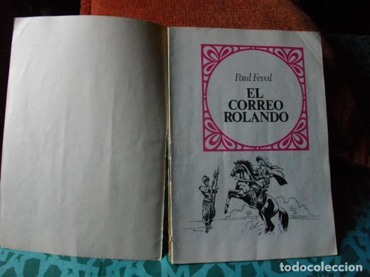 Tebeos: JOYAS LITERARIAS -EL CORREO ROLANDO- Nº 93 -EL DE LAS FOTOS VER TODOS MIS COMICS - Foto 2 - 149672930