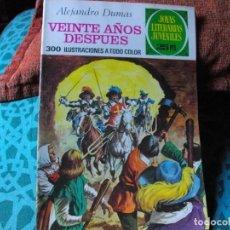 Tebeos: JOYAS LITERARIAS -VEINTE AÑOS DESPUES- Nº 97 -EL DE LAS FOTOS VER TODOS MIS COMICS. Lote 149673346