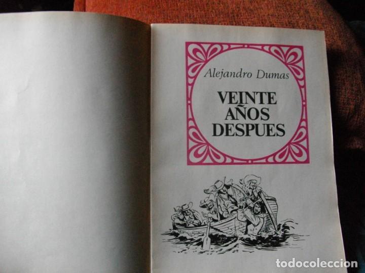 Tebeos: JOYAS LITERARIAS -VEINTE AÑOS DESPUES- Nº 97 -EL DE LAS FOTOS VER TODOS MIS COMICS - Foto 2 - 149673346