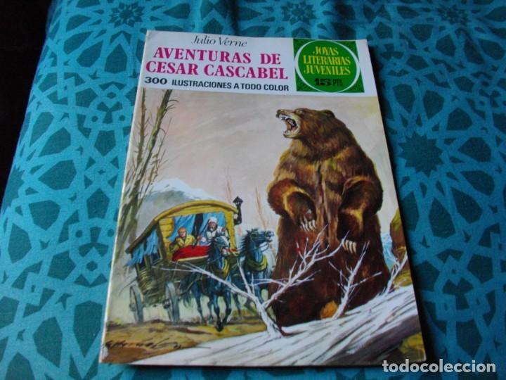 JOYAS LITERARIAS -AVENTURAS DE CESAR CASCABEL- Nº 104 -EL DE LAS FOTOS VER TODOS MIS COMICS (Tebeos y Comics - Bruguera - Joyas Literarias)