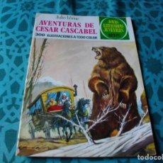 Tebeos: JOYAS LITERARIAS -AVENTURAS DE CESAR CASCABEL- Nº 104 -EL DE LAS FOTOS VER TODOS MIS COMICS. Lote 149674446