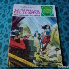 Tebeos: JOYAS LITERARIAS -LA CAPITANA DEL YUCATA- Nº 124 -EL DE LAS FOTOS VER TODOS MIS COMICS. Lote 149810274