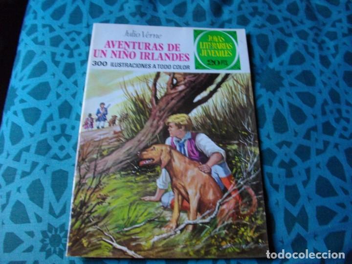 JOYAS LITERARIAS -AVENTURAS DE UN NIÑO IRLANDES- Nº 126 -EL DE LAS FOTOS VER TODOS MIS COMICS (Tebeos y Comics - Bruguera - Joyas Literarias)