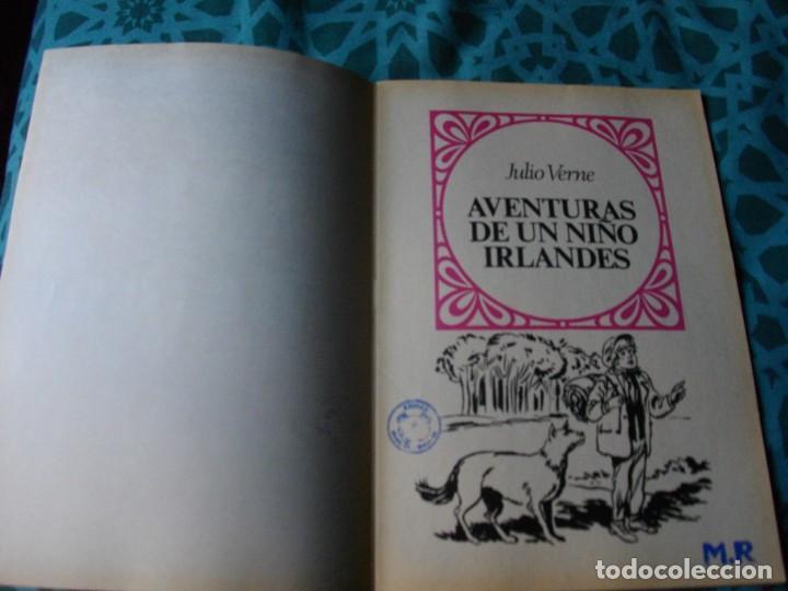 Tebeos: JOYAS LITERARIAS -AVENTURAS DE UN NIÑO IRLANDES- Nº 126 -EL DE LAS FOTOS VER TODOS MIS COMICS - Foto 2 - 149810710