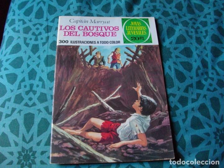 JOYAS LITERARIAS -LOS CAUTIVOS DEL BOSQUE- Nº 132 -EL DE LAS FOTOS VER TODOS MIS COMIC (Tebeos y Comics - Bruguera - Joyas Literarias)
