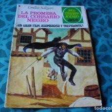 Tebeos: JOYAS LITERARIAS -LA PROMESA DEL CORSARIO NEGRO- Nº 183 -EL DE LAS FOTOS VER TODOS MIS COMIC. Lote 149813526