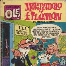 Tebeos: TEBERO - OLE - MORTADELO Y FILEMON - DEL SERVICIO SECRETO. Lote 149833710
