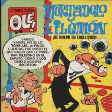 Tebeos: TEBERO - OLE - MORTADELO Y FILEMON - DE NUEVO EN EBULLICION. Lote 149833942
