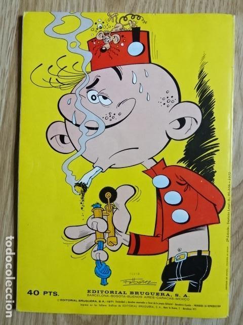 Tebeos: EL BOTONES SACARINO nº 3 Lios en la oficina Colección Olé ! Ed. Bruguera 1971 2ª edicion - Foto 2 - 149839374