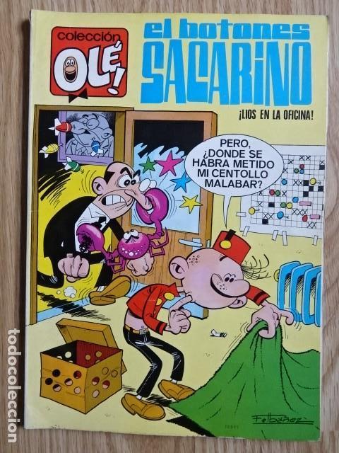 EL BOTONES SACARINO Nº 3 LIOS EN LA OFICINA COLECCIÓN OLÉ ! ED. BRUGUERA 1971 2ª EDICION (Tebeos y Comics - Bruguera - Ole)